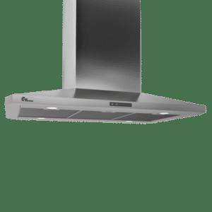 Thermex Decor 787, Fh, 90 Cm Rf M/motor Frithængende Emhætte - Rustfrit Stål